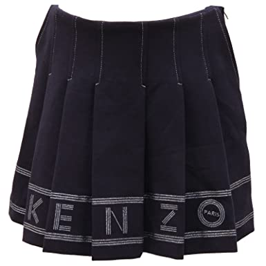 4bcd50d7348e Kenzo 2585V Gonna Bimba Kids Clara Blue Skirt Girl Kid  Amazon.fr   Vêtements et accessoires