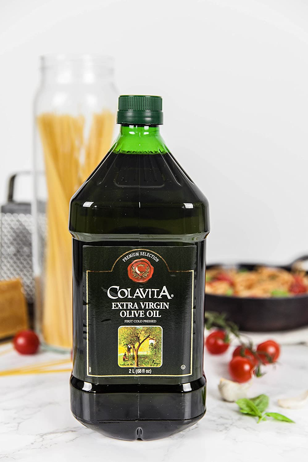 Colavita Extra Virgin Olive Oil, 68 Fluid Oz