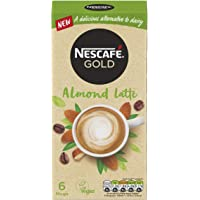 NESCAFE Gold Almond Latte Coffee 6 Pack, 96g