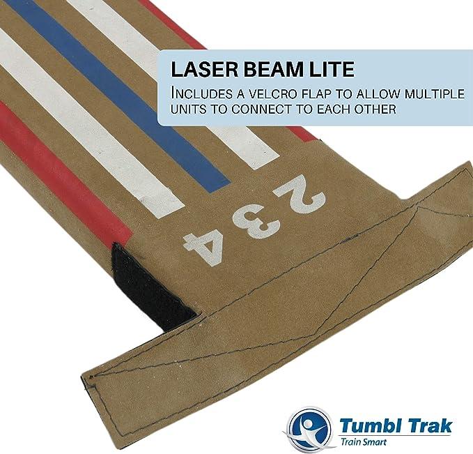 2.4m Longueur Tumbl Trak Laser Poutre D/équilibre L/égers