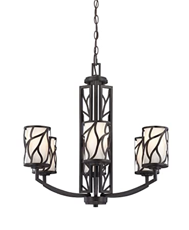 Designers Fountain 83786-ART Modesto 6 Light Chandelier, 26 x 25 x 25