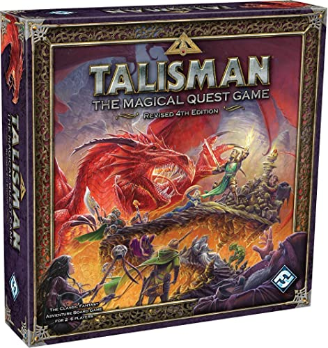 Fantasy Flight Games Talisman Revised Fourth Edition Board Game