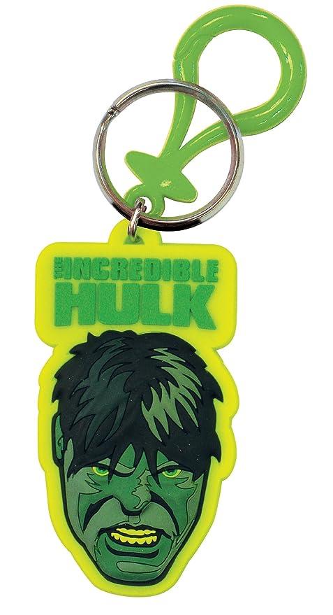 Toy Zany Marvel Hulk Laser Cut Llavero de Goma: Amazon.es ...