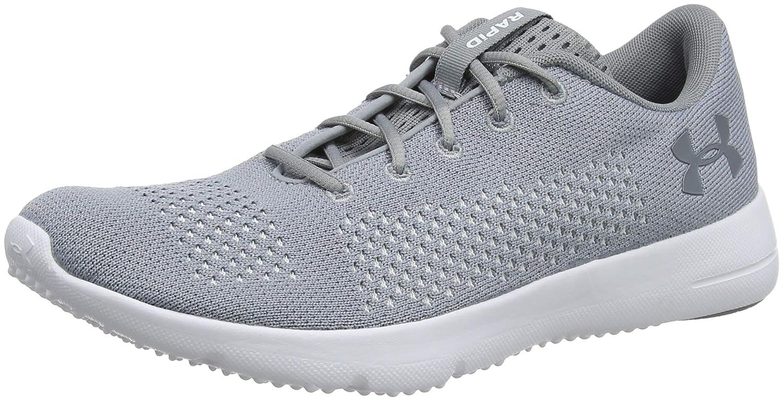 Under Armour UA W Rapid, Zapatillas de Entrenamiento para Mujer 44.5 EU|Gris (Steel/ White/ White 101)
