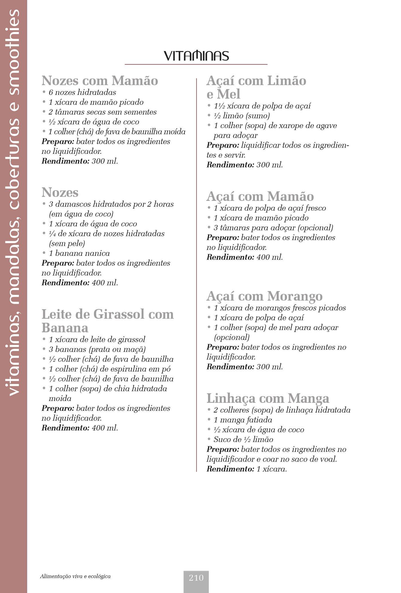 Alimentação Viva E Ecológica (Em Portuguese do Brasil): Ros Ellis Moraes: 9788578811853: Amazon.com: Books