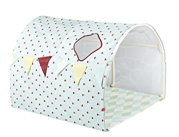 Flexa Tent Bed.Flexa Circus Themed Play Tent Cave Or Bed Tunnel Light Blue