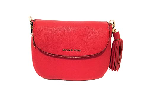 631add95b421 Michael Kors Bedford Medium Tassel Crossbody Leather Bag Sienna  Amazon.ca   Shoes   Handbags