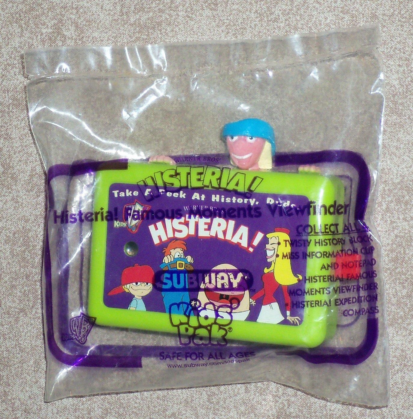 SUBWAY ~ Kids' Pak ~ Hysteria! View Finder ~ 1999