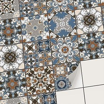 Creatisto Fliesenaufkleber Fliesenfolie Mosaikfliesen Klebefolie Aufkleber Fur Wand Fliesen Klebefliesen Deko Folie Fur Fliesen In Kuche U