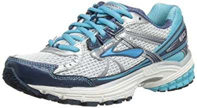 Brooks Adrenaline GTS 13 Womens Running Shoe 120123 1B 444 (5 B(M) US, Dark Denim/White/Silver)