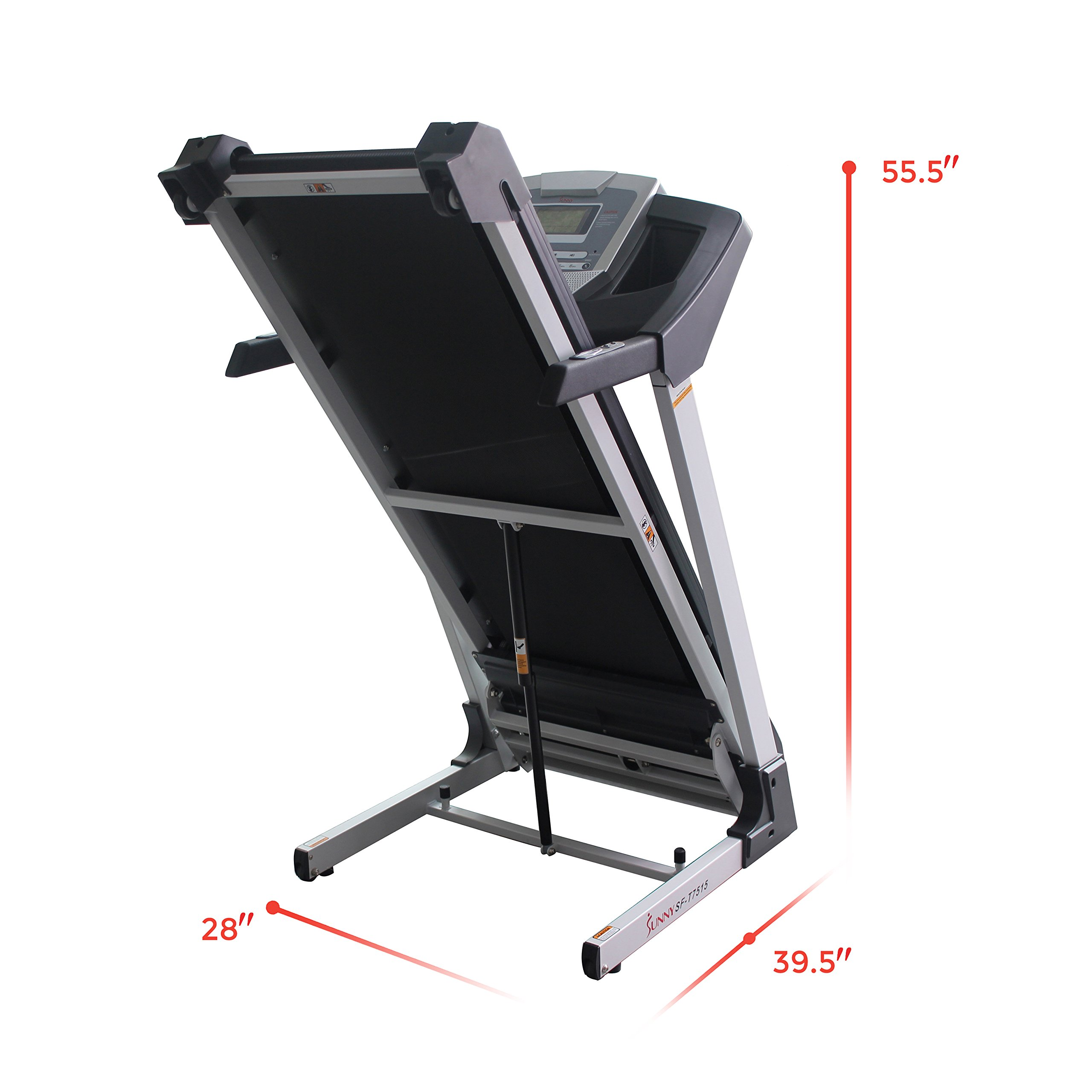 Sunny Health & Fitness SF-T7515 Smart Treadmill with Auto Incline, Bluetooth and BMI Calculator by Sunny Health & Fitness (Image #17)