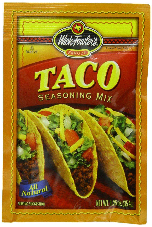 Wick Fowler's Seasoning Mix, Taco