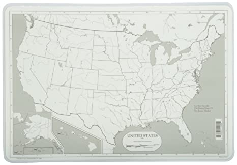 Workbook continents for kids worksheets : Amazon.com: Painless Learning Map of USA Placemat: Home & Kitchen