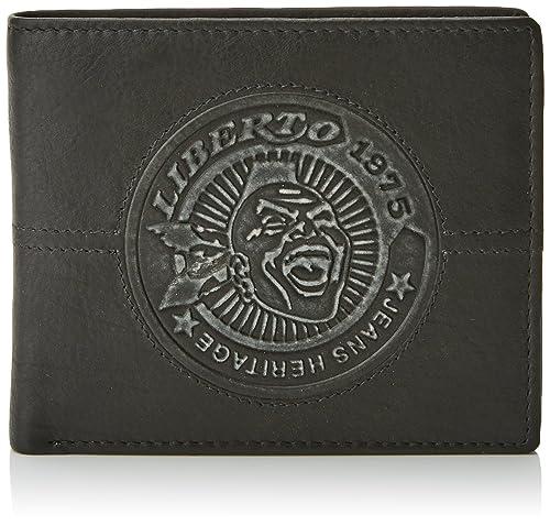Liberto 570598, Bolsa y Cartera para Hombre, Negro, 1x9x11 cm (W x