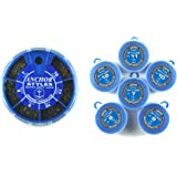 Anchor Tackle Bote de plombs 6compartiments Bleu TailleS