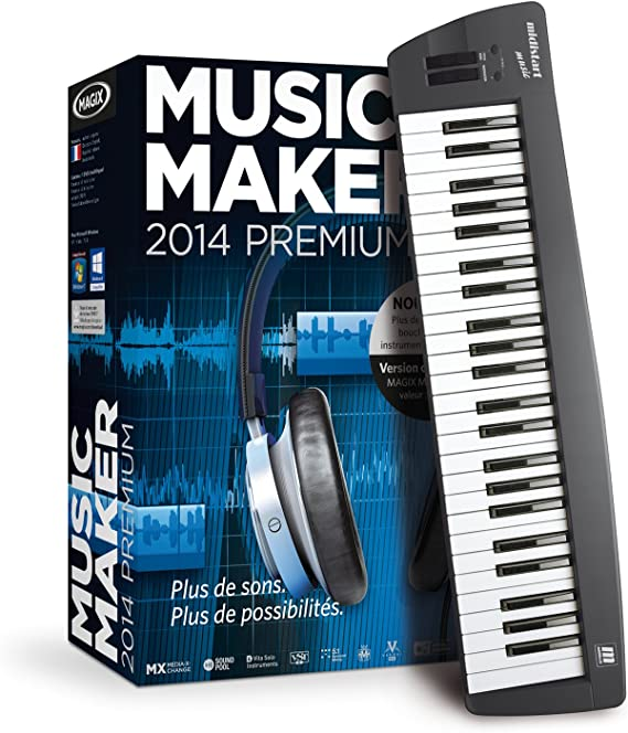MAGIX Music Maker Control 2014 - Software De Edición De Audio/Música
