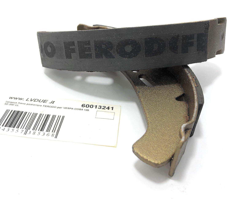 M/âchoires de frein arri/ère FERODO pour Vespa COSA 125 150 200 cc.