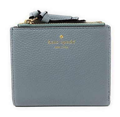 21e05c522c Kate Spade New York Small Malea Mulberry Street Leather Bifold Wallet in  Lakesedge: Amazon.co.uk: Clothing