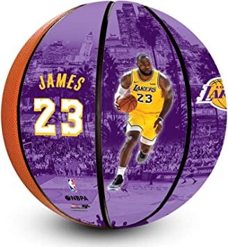 NBA Lebron James Los Angeles Lakers - Balón de Baloncesto Oficial ...