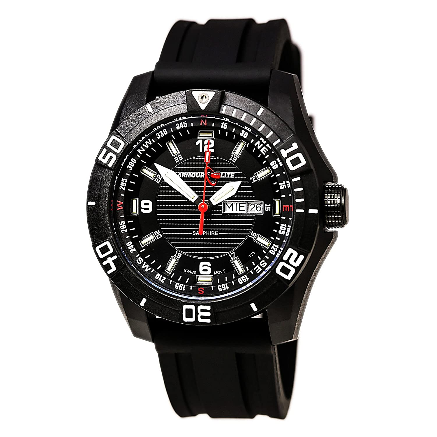 Armourlite Navigator AL1001 Watch - Rubber