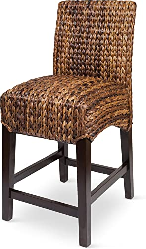 BIRDROCK HOME Bird Rock Seagrass Counter Stool Counter Height
