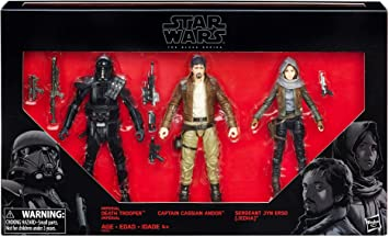 Hasbro Star Wars Rogue una Serie Negro 6 Figura 3 Pack Exclusivo ...