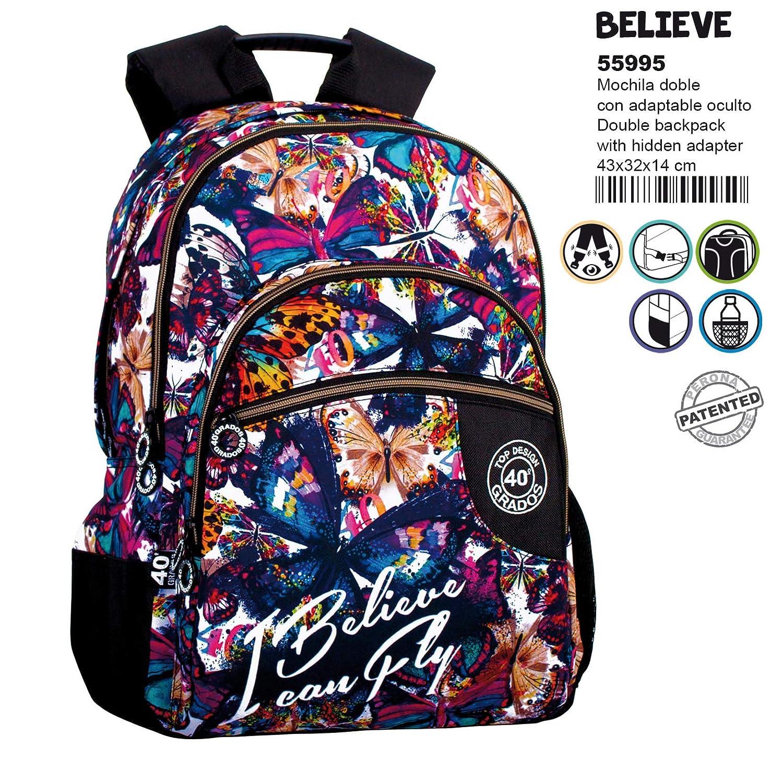 Amazon.com: 40 Grados Believe Adaptable Backpack 43cm ...
