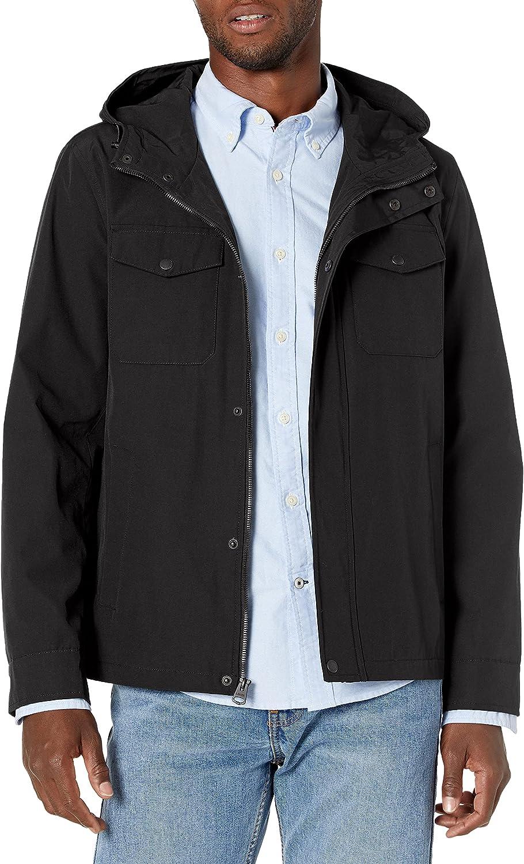 Levi's Men's New mail order Arctic Cloth Hooded Slicker Rain Max 70% OFF Jacket