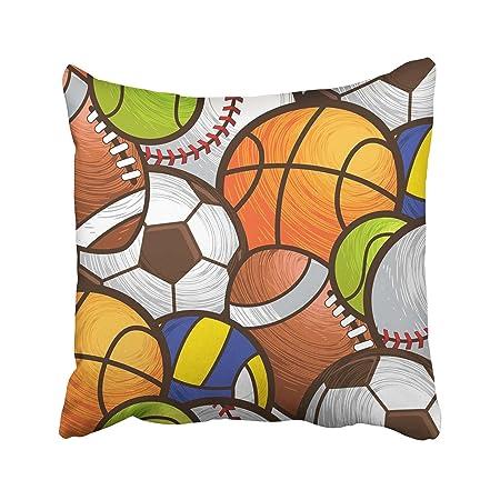 Emvency - Funda de Almohada Decorativa para Balón de Fútbol, Balón ...