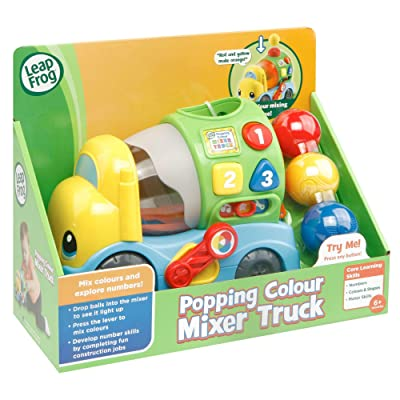 LeapFrog 601903 Popping Colour Mixer Truck: Toys & Games