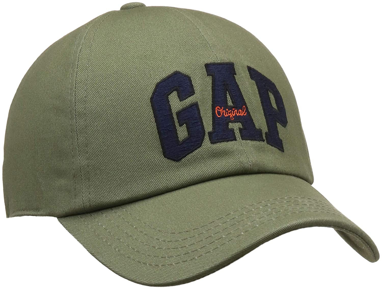 ec696551398 GAP Men s Baseball Cap (33838400503 Olive 005 OneSize)  Amazon.in  Clothing    Accessories