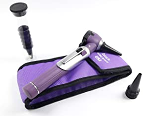 ZetaLife Otoscope - Ear Scope with Light, Ear Infection Detector, Pocket Size (Purple Color) (Color: Purple)