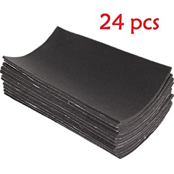 12 Sheets New Self Adhesive Closed Cell Foam 10mm Car Sound Proofing Insulation
