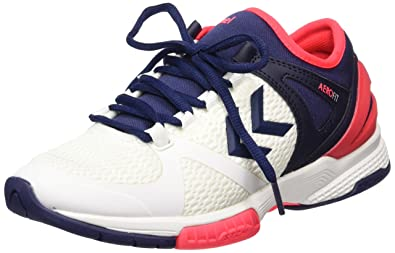 Womens Aerocharge Hb 200 Ws Fitness Shoes, Blanc/Bleu/Rose, 9 UK Hummel