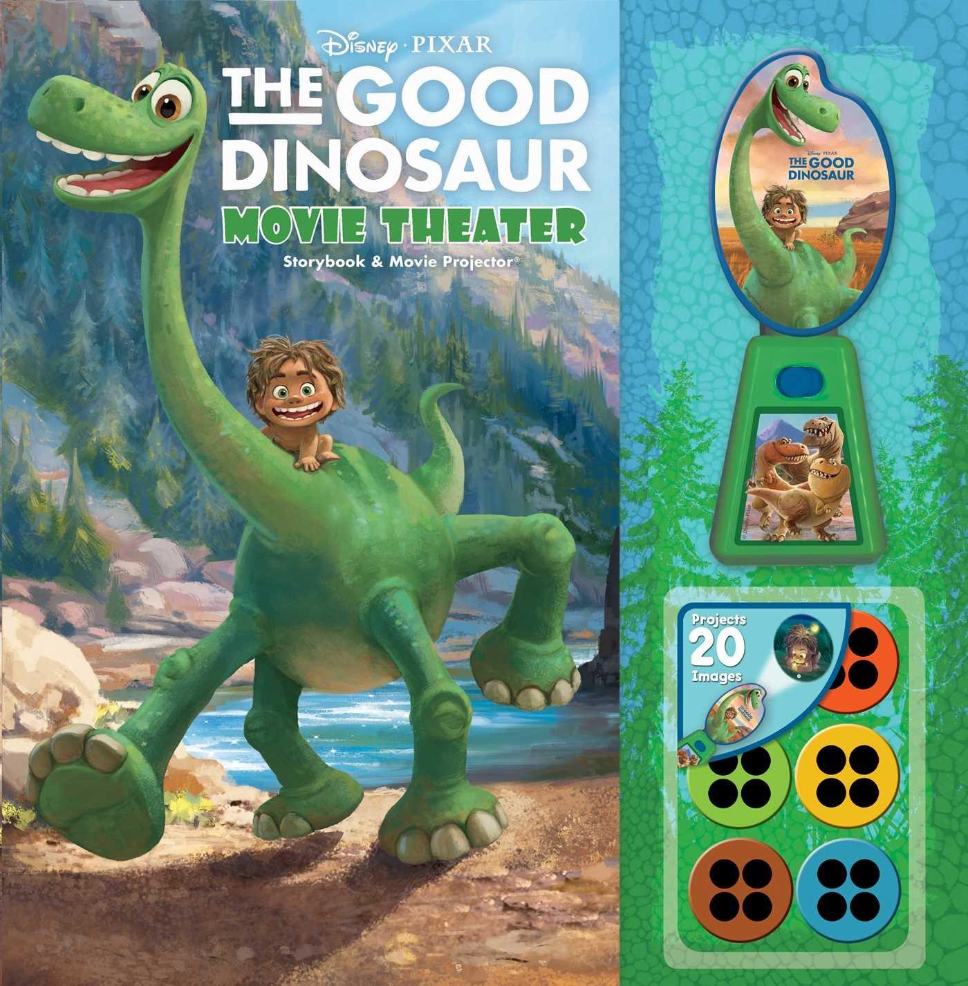 Disney Pixar The Good Dinosaur Movie Theater Storybook Movie
