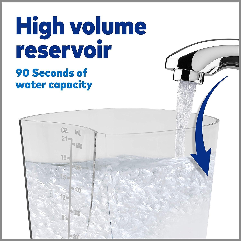 Waterpik WP-660 Water Flosser Electric Dental Countertop Professional Oral Irrigator For Teeth, Aquarius, White: Beauty