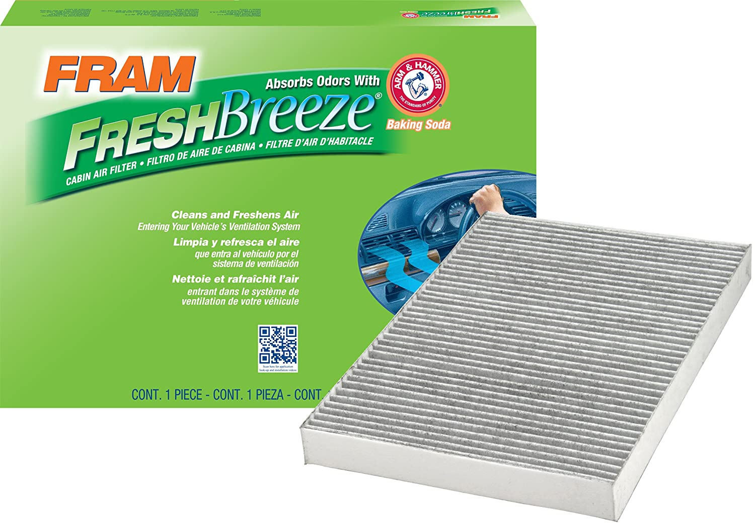FRAM CF10364 Fresh Breeze Cabin Air Filter