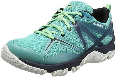 Merrell Mqm Edge Gore-Tex, Zapatillas de Senderismo para Mujer: Amazon.es: Zapatos y complementos