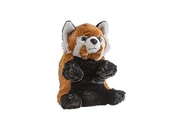 Wild Republic - Panda y Panda Rojo Kung y Pao, Peluche Reversible, 18 cm