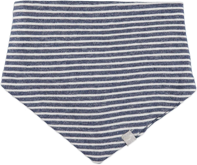 Fb royal blue stripe Babyface new born Dreieckstuch unisex 0129901