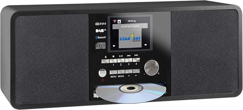 Imperial 22 236 00 Dabman I200 Internet Dab Radio With Cd Player