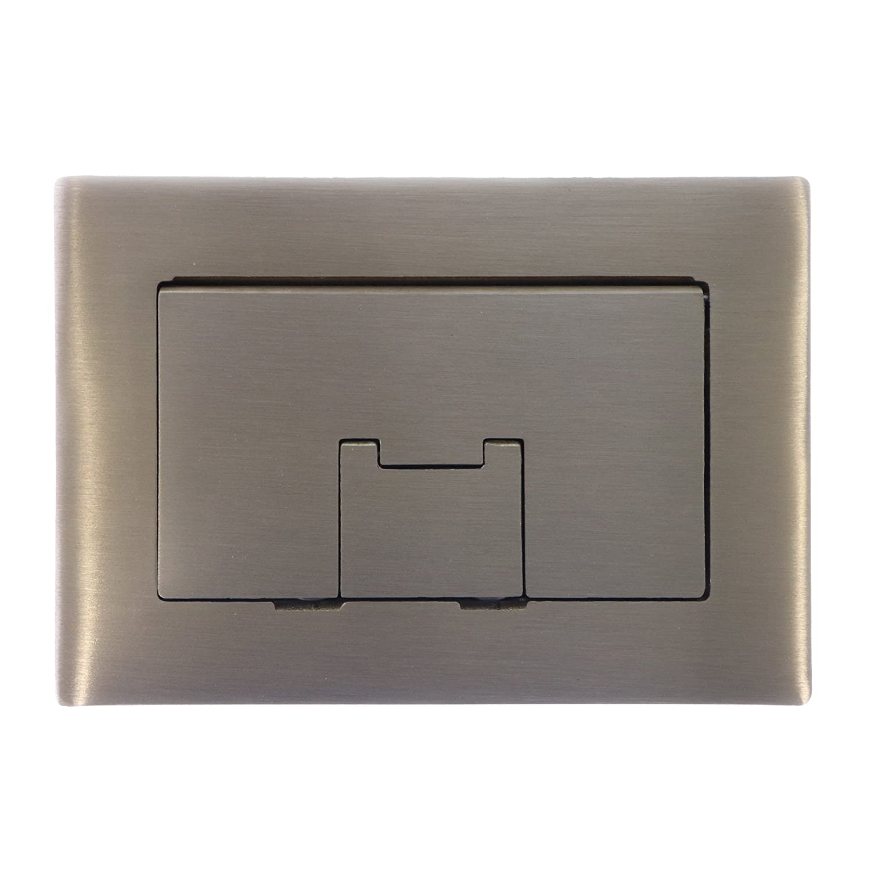Thomas /& Betts Brass Floor Box Kit,No E97BRR 3PK