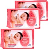 Johnson baby Skincare Wet Wipes 80n (3pcs)