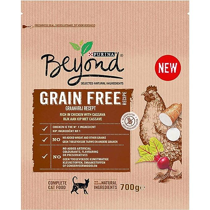 Purina Beyond Grain Free pienso Natural para Gato con Pollo ...