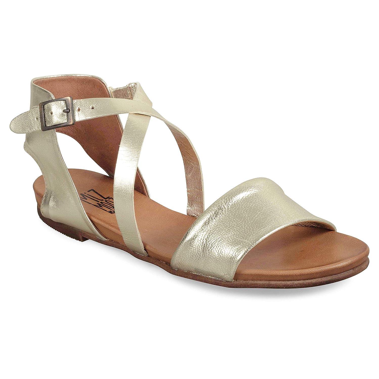 gold Miz Mooz Women's Aster Sandal