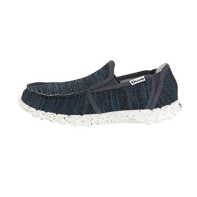 Dude Shoes Men's Wally Sox Mesh Onyx UK8 / EU42 B73GMuNaL