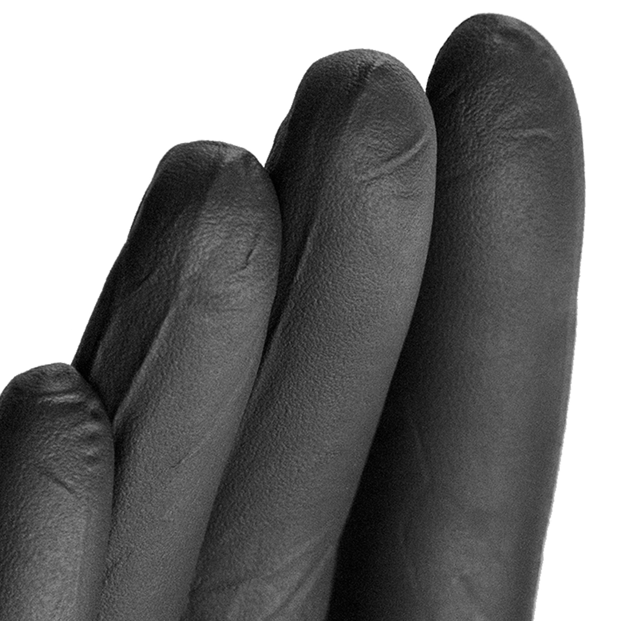 AMMEX - BINPF46100 - Industrial Nitrile Gloves - Gloveworks - Disposable, Powder Free, 5 mil, Large, Black (Case of 1000) by Ammex (Image #2)