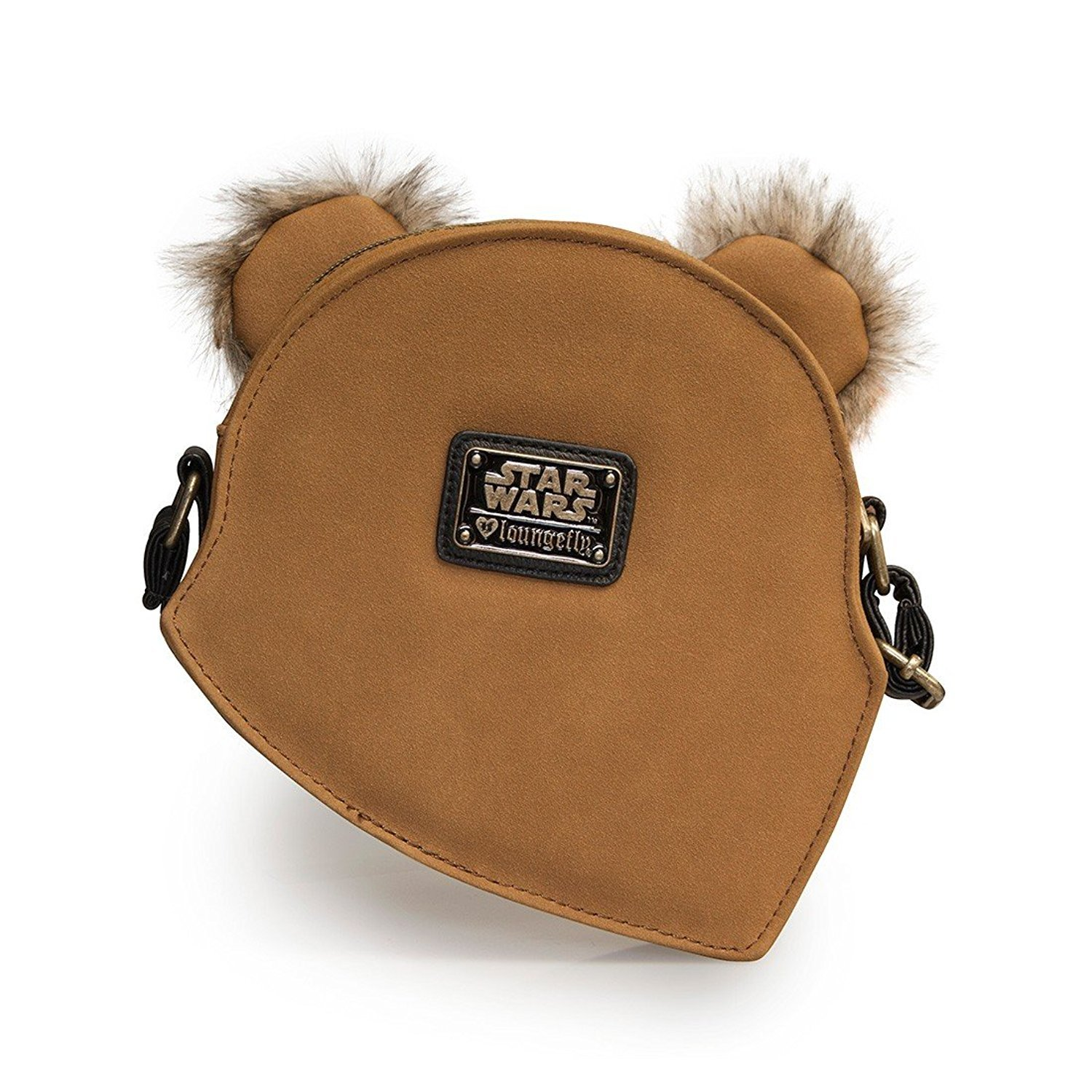Amazon.com: Producto oficial de Star Wars Ewok Crossbody ...