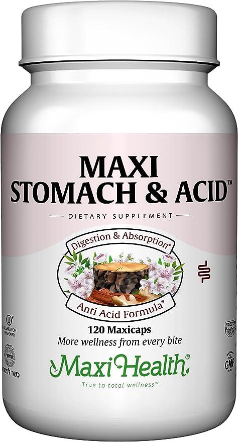 Maxi Stomach Anti Acid Support Full Spectrum Capsules, 120 Count