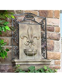 Sunnydaze French Lily Outdoor Wall ...